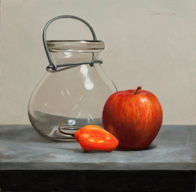 Still Life Painting Class Demonstration by David Jamieson