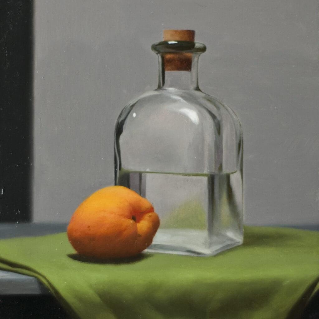 Demonstration Painting from Still Life Class at Vitruvian Fine Art Studio.