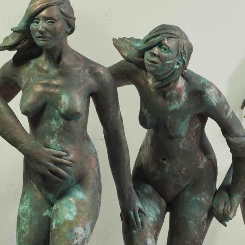 Figure Sculpture by Melinda Whitmore at Vitruvian Fine Art Studio, Art Schools Chicago