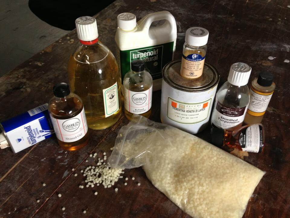 Oil Painting Medium ingredients