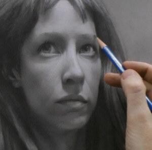 Portrait Drawing Demo by David Jamieson