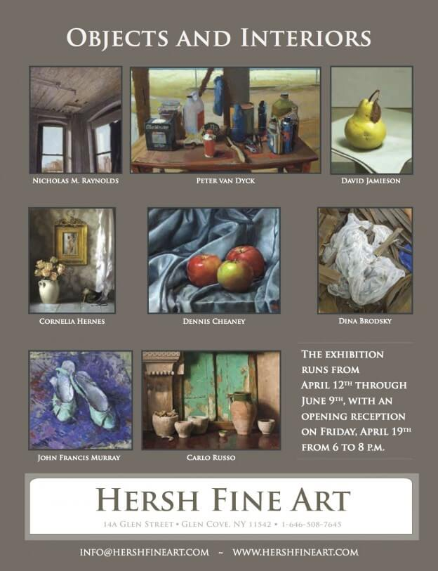 Hersh Fine Art ad for American Art Collector Magazine.