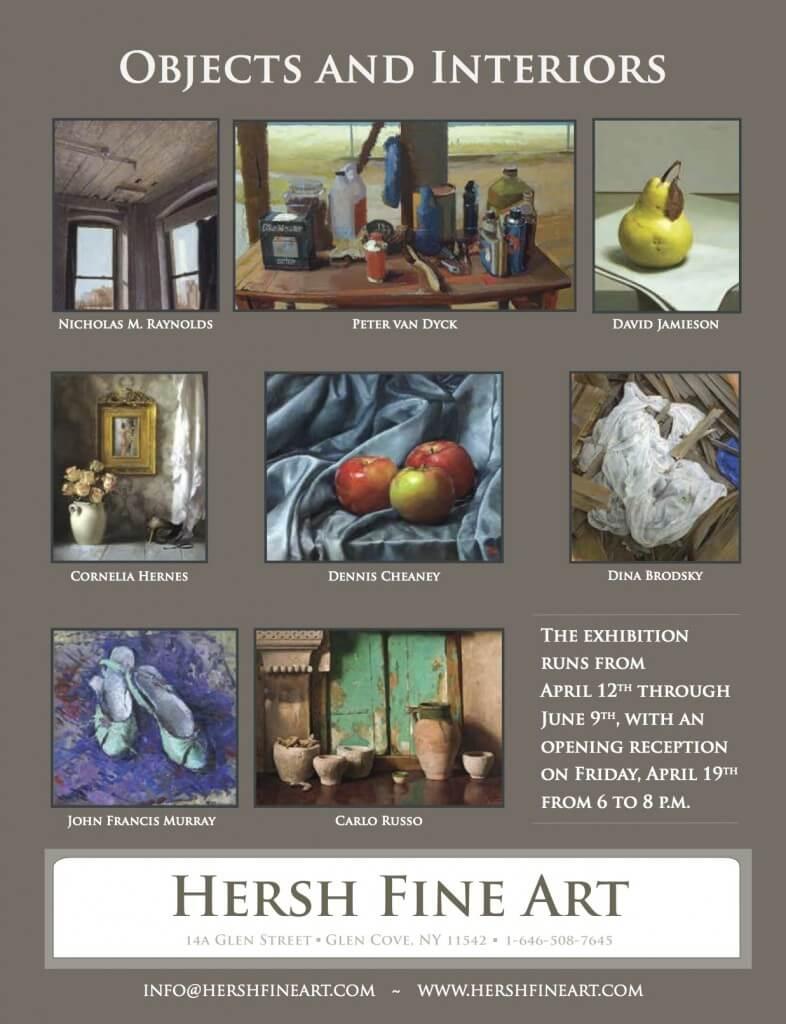 Hersh Fine Art ad for American Art Collector Magazine.