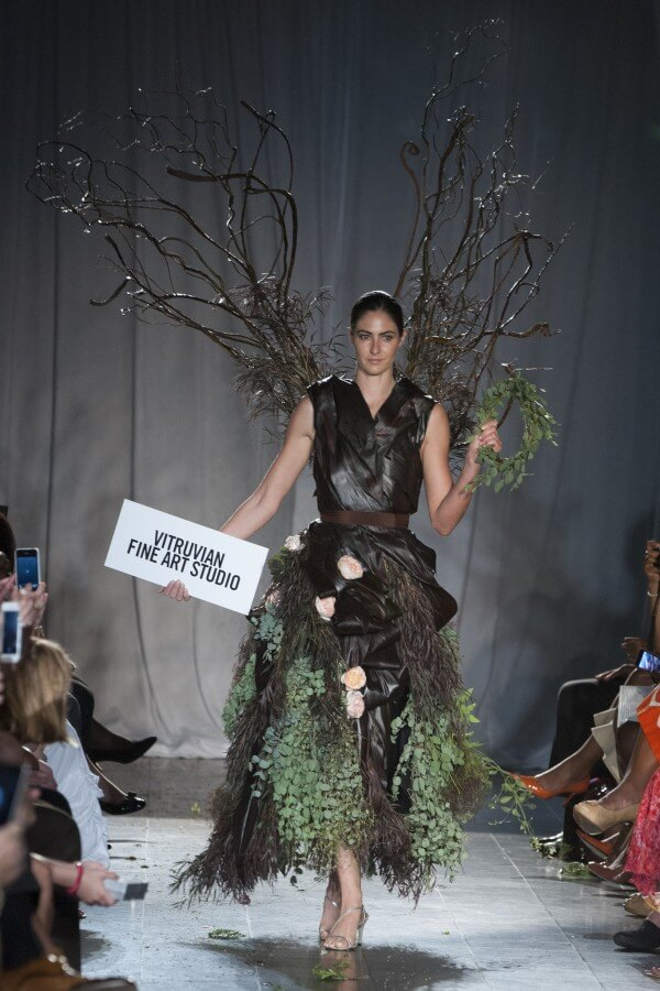 """Mindy Whitmore's design for Fleurotica 2013, inspired by """"Winged Vicory""""."""