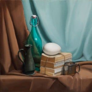 By Julie Rowin, Oil on Panel.