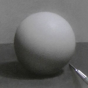 Drawing a sphere in Drawing Basics.