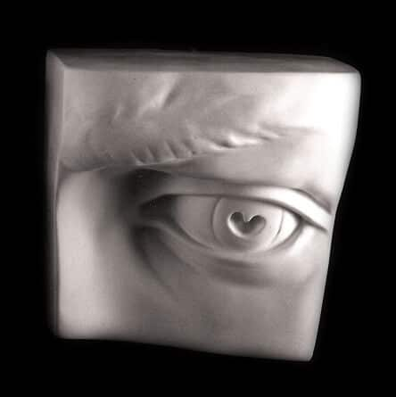 Eye of David cast from Giust Gallery. Click image for purchase information.