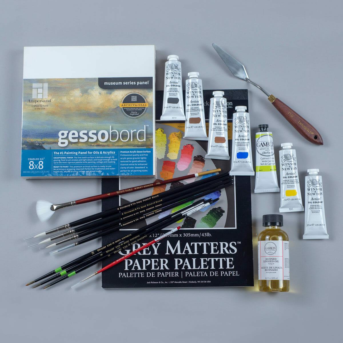 Still Life Painting Materials Kit